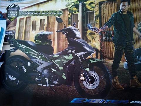 Yamaha Viet Nam chuan bi ra mat Exciter phien ban ran ri hinh anh