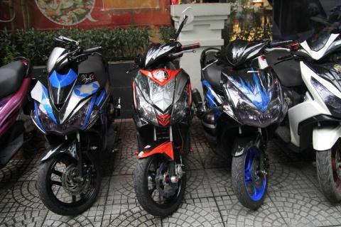 Biker Sai Gon hoi tu thi xe do dep nhat hinh anh