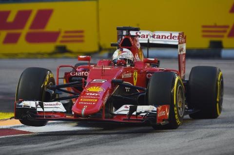 Chi tiet xe dua F1 cua Ferrari chien thang tai Singapore hinh anh