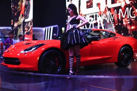 Danh gia nhanh Chevrolet Corvette C7 tai Viet Nam hinh anh