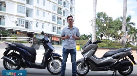 Honda SH 150i do Yamaha NM-X: Xe ga hang sang gia 80 trieu hinh anh