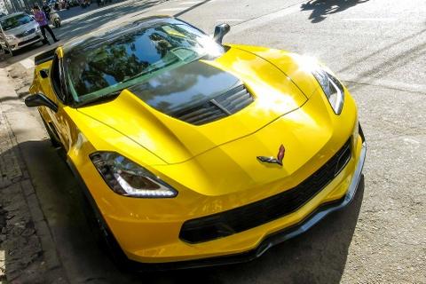 Chi tiet sieu xe Chevrolet Corvette Z06 thu 2 tai Sai Gon hinh anh