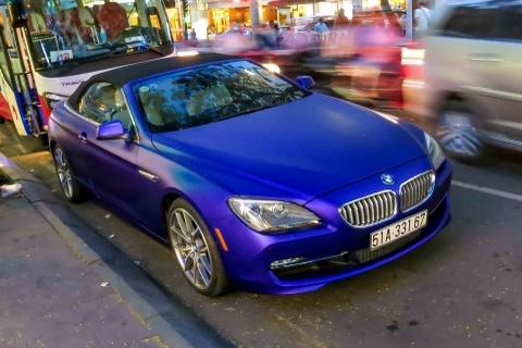 BMW 6-series cua thieu gia Phan Thanh doi mau son hinh anh