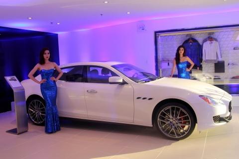 3 mau xe sang Maserati tai TP HCM hinh anh