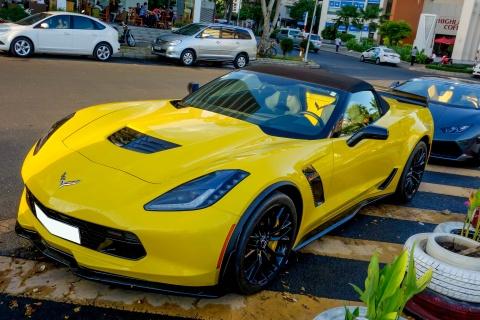 Sieu xe Corvette Z06 mui tran dau tien tai Viet Nam hinh anh 1