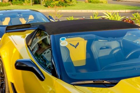 Sieu xe Corvette Z06 mui tran dau tien tai Viet Nam hinh anh 4
