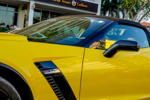 Sieu xe Corvette Z06 mui tran dau tien tai Viet Nam hinh anh 5