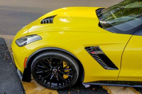 Sieu xe Corvette Z06 mui tran dau tien tai Viet Nam hinh anh 6