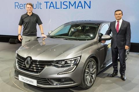 Renault Talisman - doi thu Toyota Camry sap ban tai Viet Nam hinh anh
