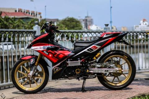 Yamaha Exciter do kieu xe dua cua biker Sai Gon hinh anh