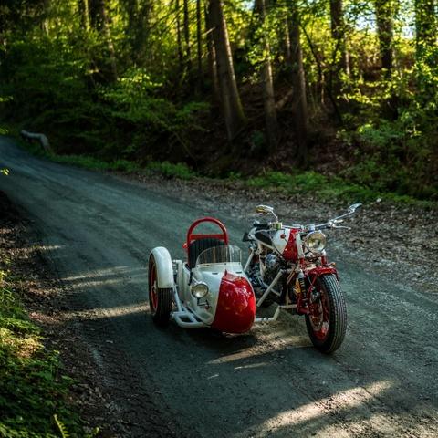 Do Moto Guzzi 40 nam tuoi thanh sidecar hinh anh 7