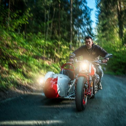 Do Moto Guzzi 40 nam tuoi thanh sidecar hinh anh 9