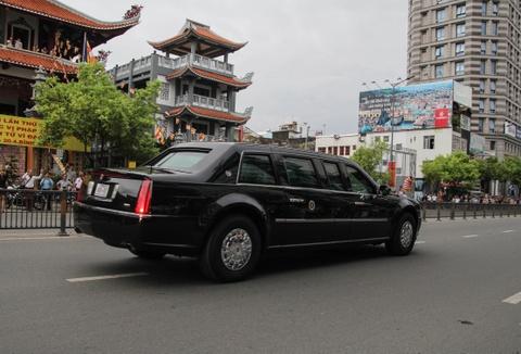 Chi tiet doan xe ho tong Tong thong Obama o Sai Gon hinh anh 12