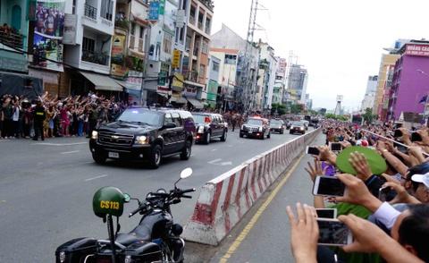 Chi tiet doan xe ho tong Tong thong Obama o Sai Gon hinh anh 2