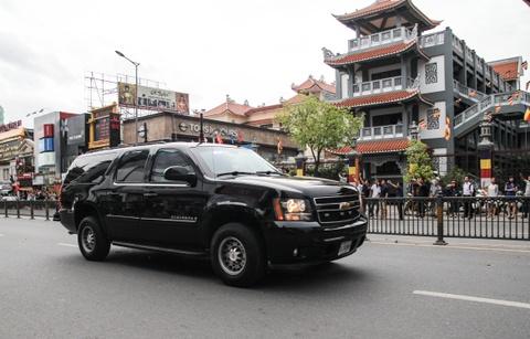 Chi tiet doan xe ho tong Tong thong Obama o Sai Gon hinh anh 3