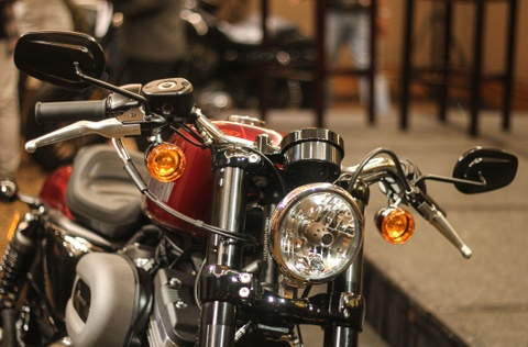 Harley Davidson Roadster 1.200 phan khoi ra mat tai Viet Nam hinh anh 9
