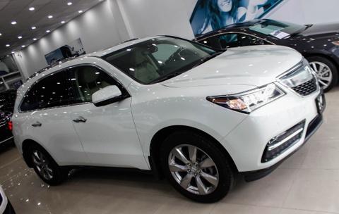 Acura MDX 2016 - doi thu nang ky cua BMW X5 ve Viet Nam hinh anh
