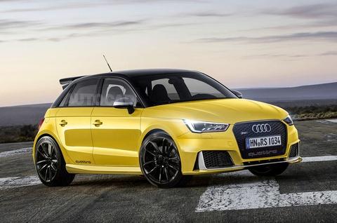 Audi RS1 muon 'de bep' MINI Cooper hinh anh