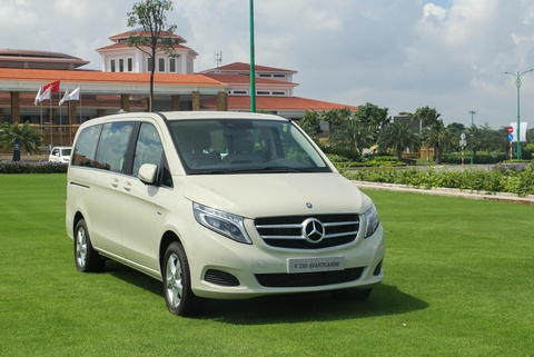 Chi tiet Mercedes V 250 gia 2,5 ty dong tai Viet Nam hinh anh 1