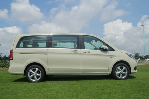 Chi tiet Mercedes V 250 gia 2,5 ty dong tai Viet Nam hinh anh 14