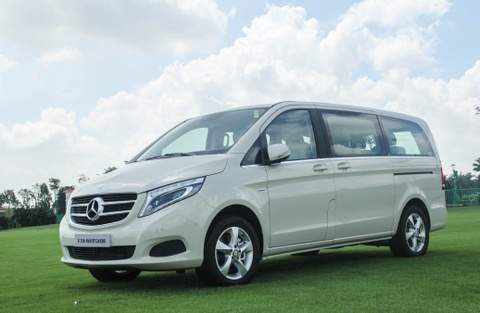 Chi tiet Mercedes V 250 gia 2,5 ty dong tai Viet Nam hinh anh 3