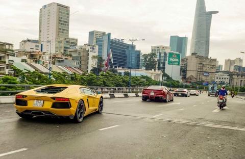 Cuong Do La dan dau doan sieu xe tai khoi dong Car Passion hinh anh 10