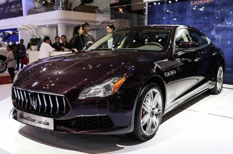 Maserati Quattroporte 2017 gia tu 6,1 ty o Viet Nam hinh anh