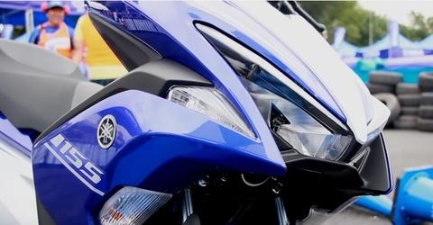Yamaha NVX co mat tai Viet Nam hinh anh