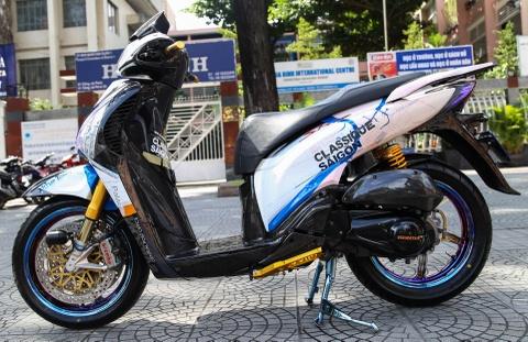 Honda SH bien ngu quy do tren 200 trieu cua biker Sai Gon hinh anh