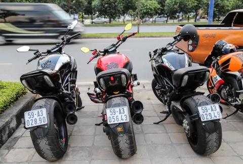 Hang chuc moto va sieu xe tap trung o Sai Gon hinh anh 8