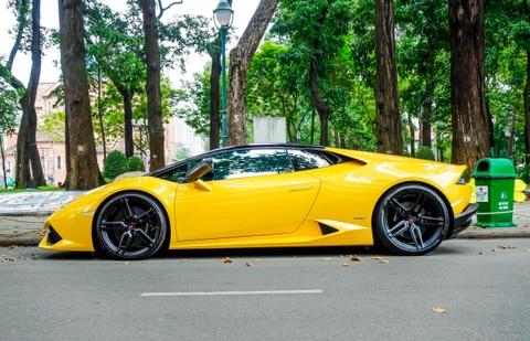 Sieu xe Lamborghini Huracan cua Cuong Do La do gam thap hinh anh 2