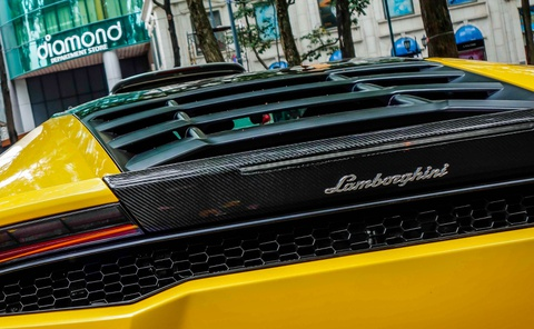 Sieu xe Lamborghini Huracan cua Cuong Do La do gam thap hinh anh 5