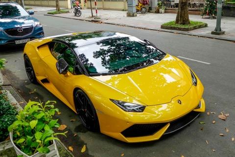 Sieu xe Lamborghini Huracan cua Cuong Do La do gam thap hinh anh 6