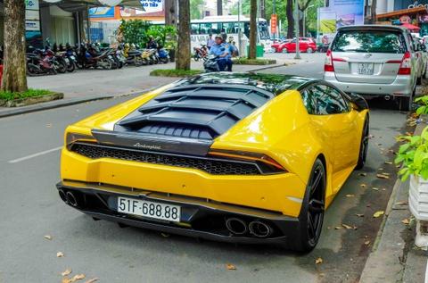 Sieu xe Lamborghini Huracan cua Cuong Do La do gam thap hinh anh 7