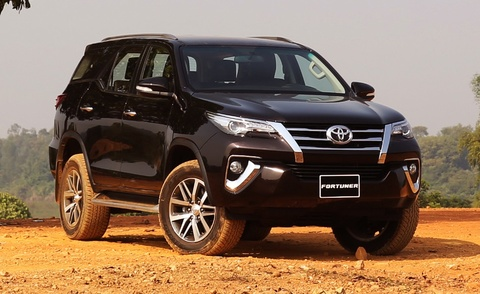 cac phien ban toyota fortuner 2017 hinh anh