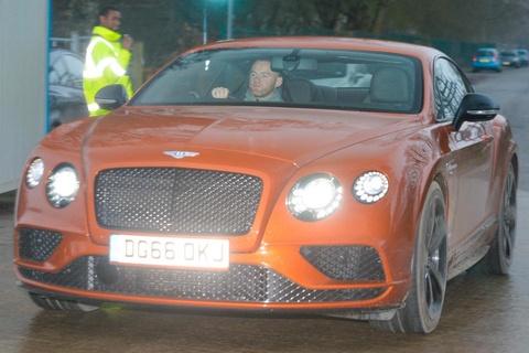 Wayne Rooney tau sieu xe Bentley GT gia 250.000 bang Anh hinh anh
