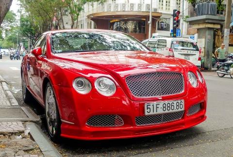 Sieu xe Bentley do bien dep o Sai Gon hinh anh