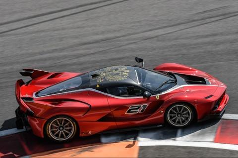 5 sieu xe Ferrari XX khong duoc chay tren pho hinh anh