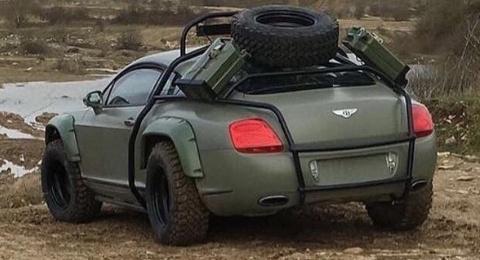 Hinh anh sieu xe Bentley off-road gay chu y hinh anh