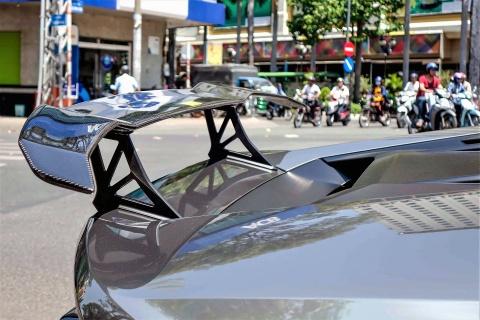Lamborghini Huracan do body va dan chrome o Sai Gon hinh anh 8