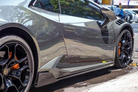 Lamborghini Huracan do body va dan chrome o Sai Gon hinh anh 7