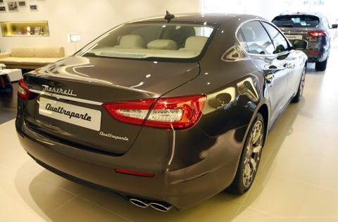 Xe sang Maserati Quattroporte gia 7,2 ty dong tai Viet Nam hinh anh 13