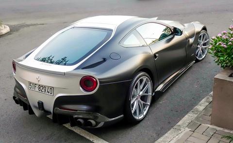 Sieu xe Ferrari F12 do cua Cuong Do La doi mau hinh anh 4