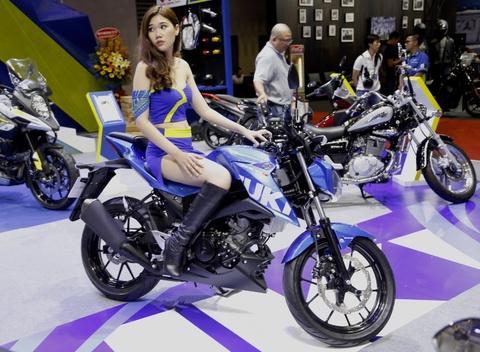 Suzuki GSX-S150 - doi thu Yamaha FZ150 moi ra mat tai VN hinh anh 11