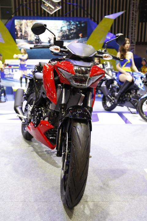 Suzuki GSX-S150 - doi thu Yamaha FZ150 moi ra mat tai VN hinh anh 2