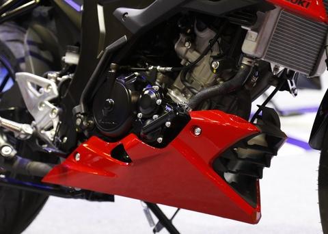 Suzuki GSX-S150 - doi thu Yamaha FZ150 moi ra mat tai VN hinh anh 4