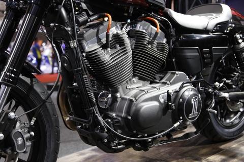 Harley-Davidson Roadster Cafe Racer gia gan 600 trieu dong tai VN hinh anh 8