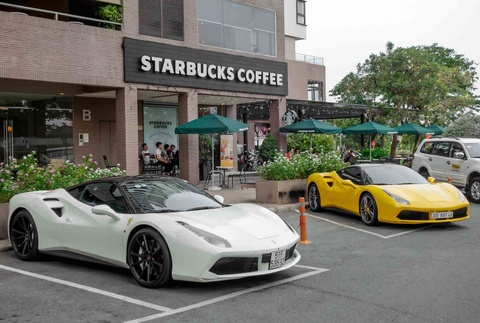 Sieu xe cua Cuong Do La do dang Ferrari cua dai gia Sai Gon hinh anh 1