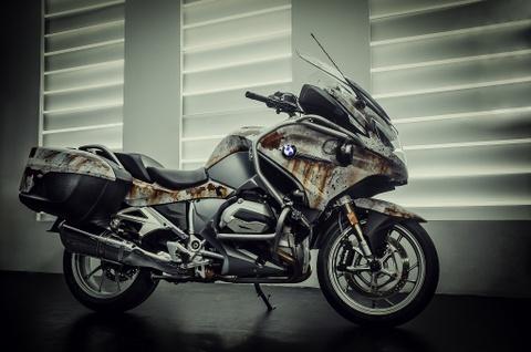 Sieu moto BMW RT1200R do kieu ri set boi tho Viet hinh anh 1
