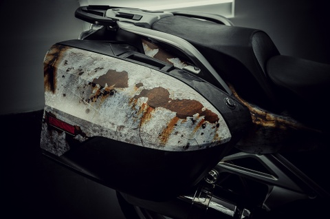 Sieu moto BMW RT1200R do kieu ri set boi tho Viet hinh anh 4
